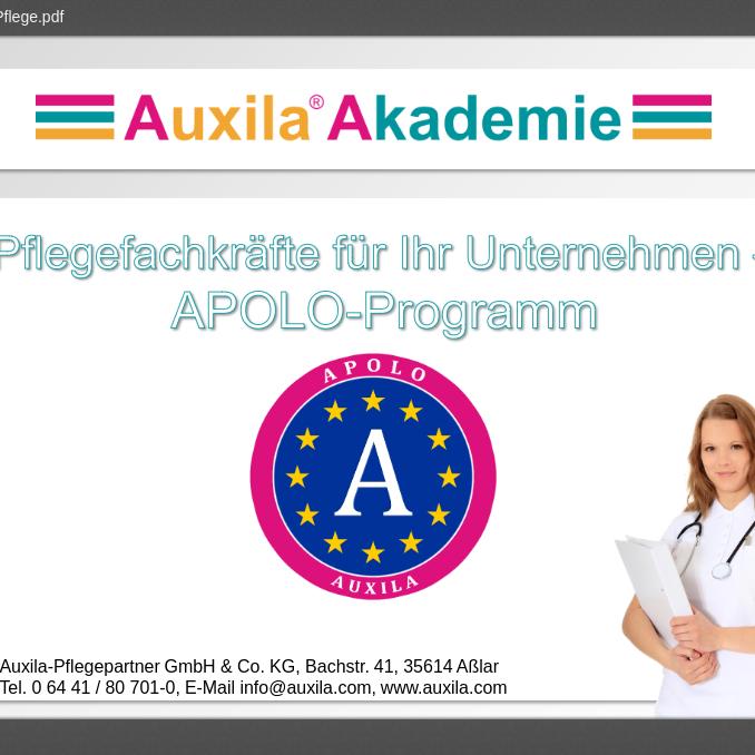 Apolo Programme für Arbeitgeber